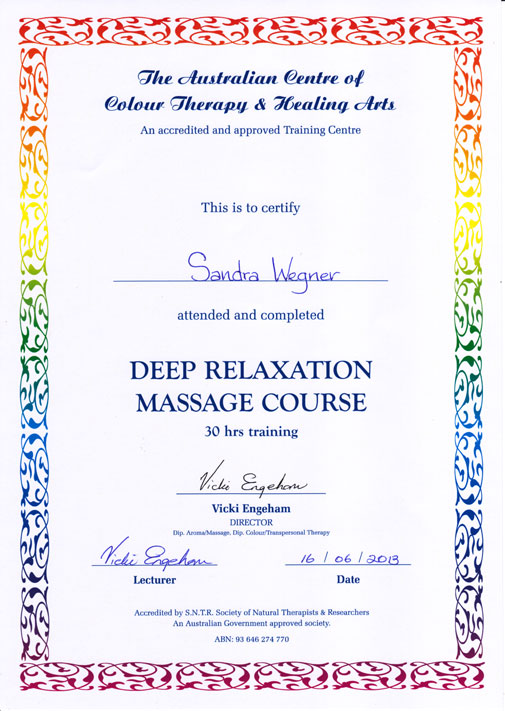 Deep Relaxing Massage